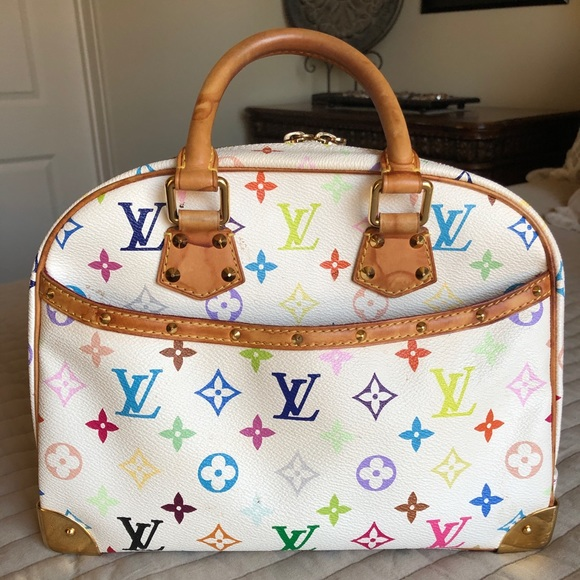 Louis Vuitton Handbags - Louis Vuitton White Monogram Multicolor Handbag